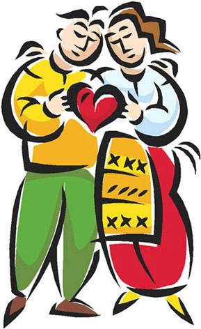 love heart drawings couple love red heart