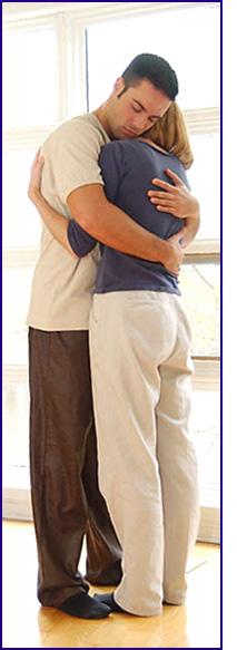 relationship problem advice man woman hugging