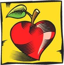 red love apple