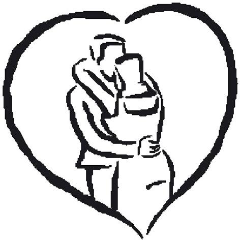 love heart drawings lovers kissing sketch