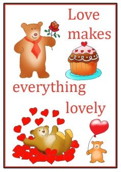 good quotes love makes everything lovely