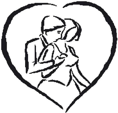 sketch lovers in heart