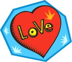 love heart drawings red heart text love