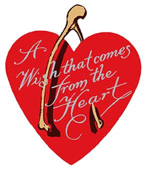 wish love heart old