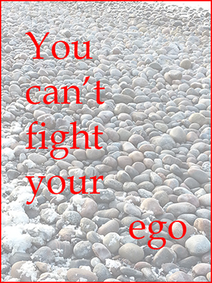 why you can't fight your ego