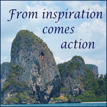 from inspiration comes action