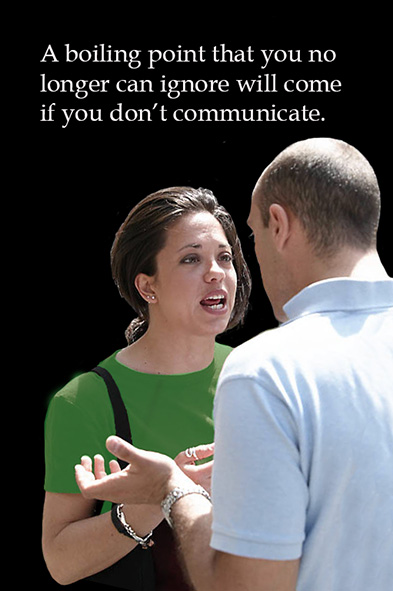 boiling point if no good communication
