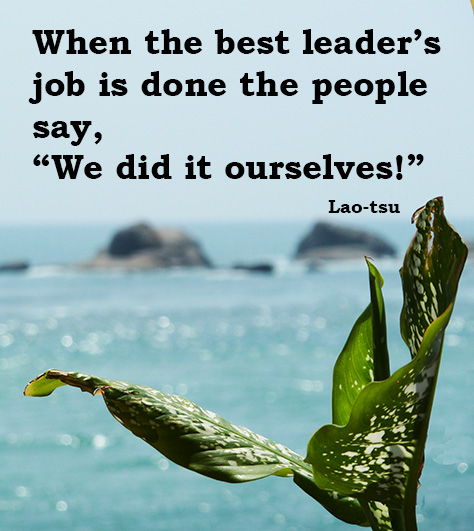 about good leadership