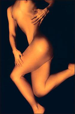 bare bodies woman artful pose