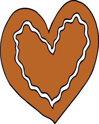 ginger bread heart