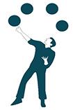 enneagram type 7 juggler