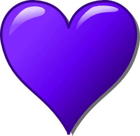 Blue love heart christoph brill