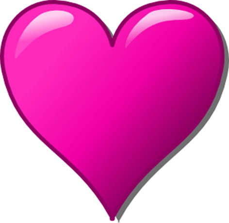 pink love heart christoph brill