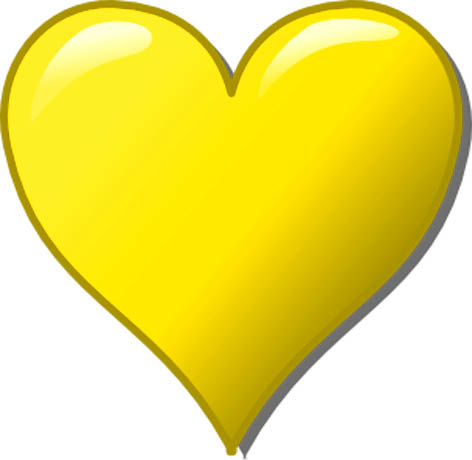 imagenes de amor yellow love heart christoph brill