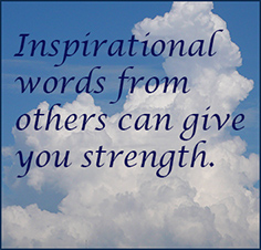 thoughts about inspirational stories