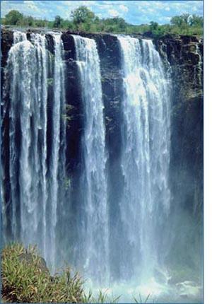 letting go beautiful waterfall