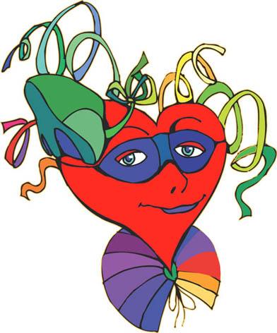 heartface boy love heart