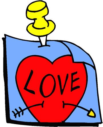 love heart drawings note tack love red heart arrow