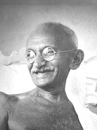 Mahatma Gandhi photo 1942