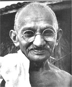 Mahatma Gandhi spirtual leader