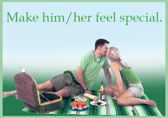 make her or him feel special