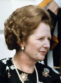 Margaret Thatcher photo 1983