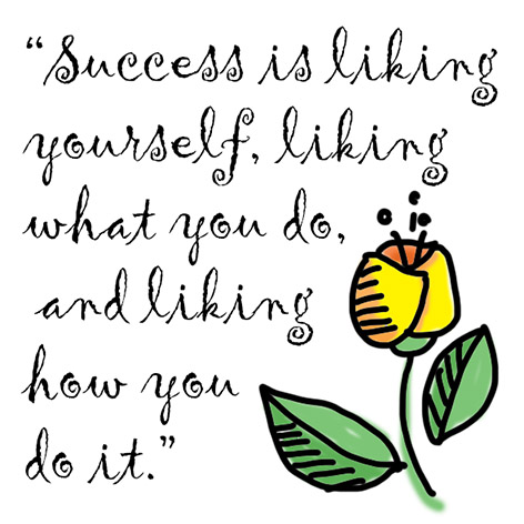 quotation about success by Maya Angelou