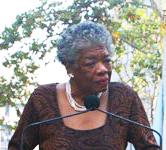 Maya Angelou portrait