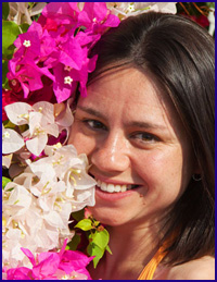 understanding women womans face flowers