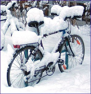 a-lesson-in-letting-go-and-letting-god-bicycles-snow-GNU-licence