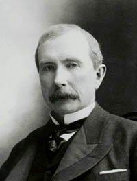 John D. Rockefeller photo 1885
