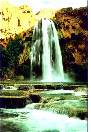 letting go waterfall mountain
