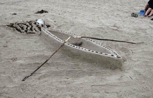 sand sculpture ephemeral art cano