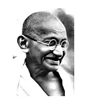 Mahatma Gandhi self help books