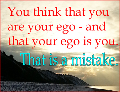 you are not your ego